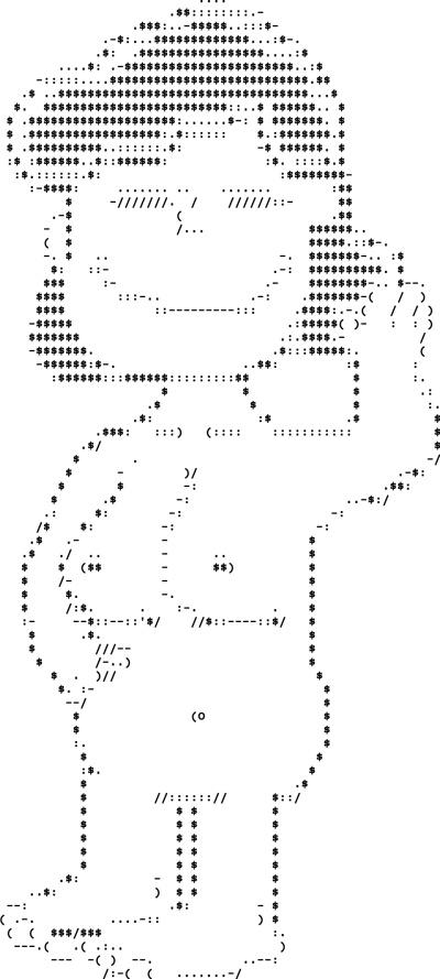 Art arcii ASCII art
